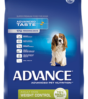ADVANCE K9 WEIGHT CONTROL SMALL BREED 13KG