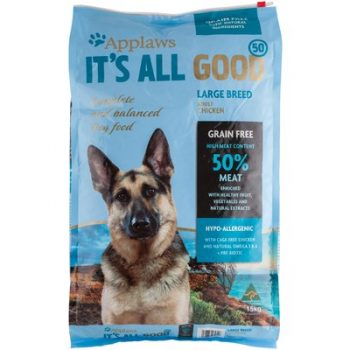 APPLAWS K9 IT'S ALL GOOD LARGE BREED CHICKEN 15KG