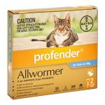 PROFENDER BLUE SMALL CAT 2.5-5KG 2PK