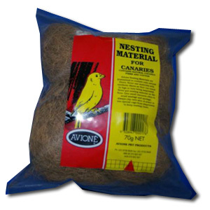 AVIONE NESTING MATERIAL CANARIES 30G